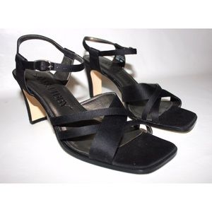 Sam & Libby Square Toe Crisscrossing Strap Sandals